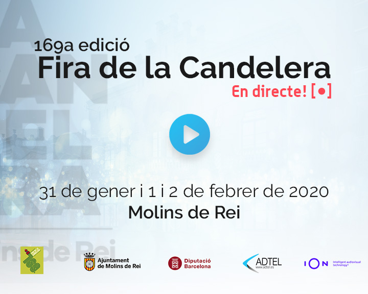 ADTEL collaborates with the Fira de la Candelera